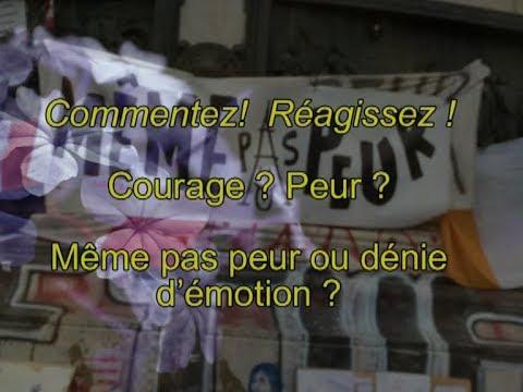 Courage Ou meme pas peur Ou dénier ses emotions
