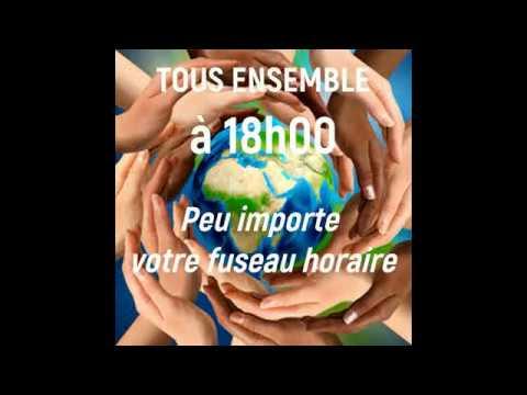 Joignez-vous aux7 minutes pour l'humanitéà 18H00!!