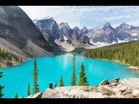 Hypnotic relaxing effect ! (H.R.E.) vidéo et musique pour dormir-méditer-Lac et Montagne du Canada