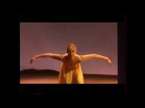"Carolyn CARLSON - "" Vu d'ici "" - Chorégraphie solo 1996 - 2è extrait"