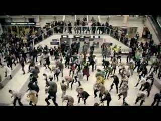 Liverpool train station Dance