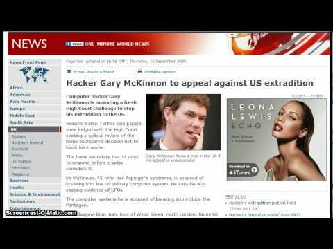 hacker Gary McKinna the guy who hacked into the pentagons computor news update