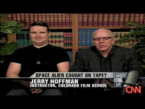EBE, Alien on tape by Stan Romanek on Larry King Part II of II