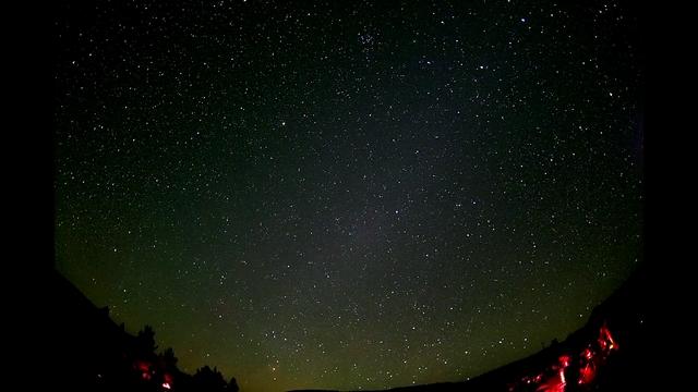 Center of the Galaxy over Texas