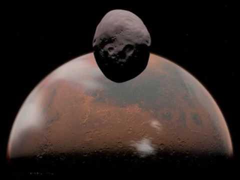 Photos of Phobos Monolith,Mars Moon.