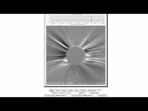 SOHO telescope UFO - 10/10/10