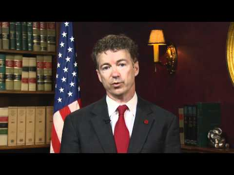 3/28/11 - Sen. Rand Paul Responds to President Obama's Libya Address