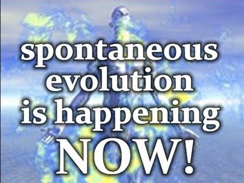 PROOF!!! Spontaneous Evolution is Happening NOW!