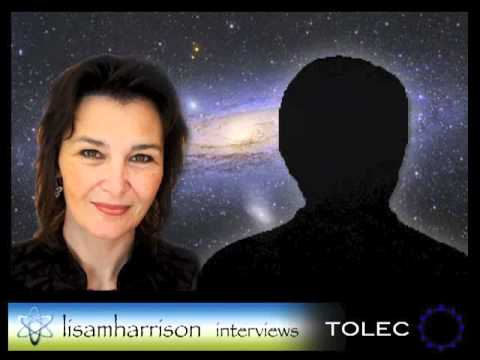 Tolec with Lisa Harrison - Andromedan Council contactee