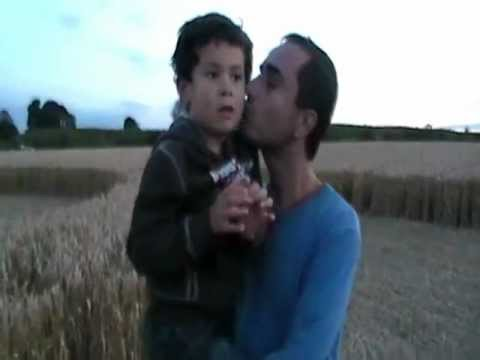 UFO  Spotted from Avebury Crop Circle - August 19th 2012