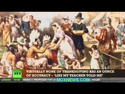 The First Thanksgiving As Told By THE TRUTH SEEKER