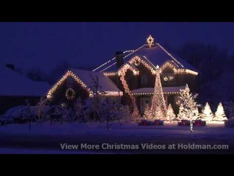 Christmas Holiday Home Light Show