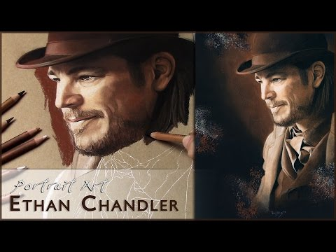 Ethan Chandler (Josh Hartnett) - Penny Dreadful | Speed Art Pastel Painting