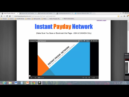 100% FREE System-Instant Payday Network Proof Of Income