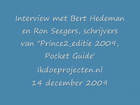 Interview over Prince2_editie 2009