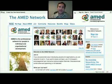 Tutorial: How to Create & Customize Your AMED Profile