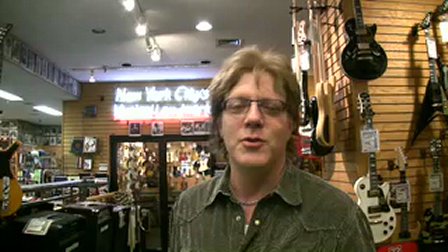 Jay Jay French of Twisted Sister about buying his first guitar at Manny's when he was 14!