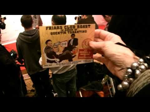 """QUENTIN TARANTINO'S """"Turn On The Spit"""" @ THE FRIAR'S CLUB ROAST!  Red Carpet/Party 12/1/10"""