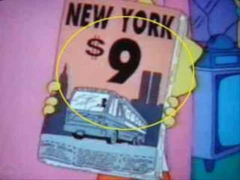 Simpsons 9/11 Episode that predicted 911