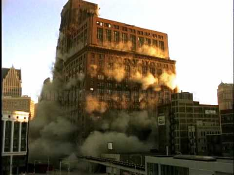 J.L. Hudsons Department Store - GUINNESS WORLD RECORD!! - Controlled Demolition, Inc.