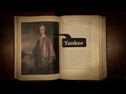 Mysteries of vernacular: Yankee - Jessica Oreck and Rachael Teel