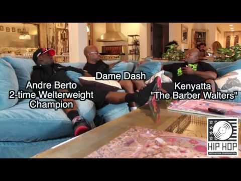 """Damon Dash """"Invest In Your Own Dreams"""" Andre Berto (2-Time Welterweight Champion)"""