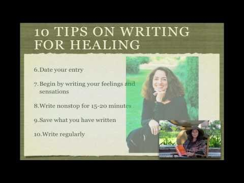 10 Tips on Writing for Healing