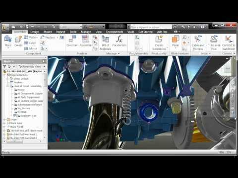 Autodesk Inventor Two Minute Tip - Custom Toolbars
