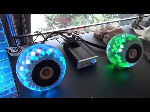 3D printed speakers give you a custom light show to go with your tunes