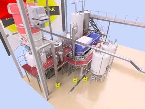 BW procestechniek: Brewhouse 40 HL and cold block