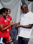 Carl Lewis at The Coliseum