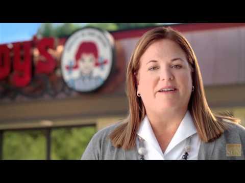Wendy's Burger: Dave's Hot 'N Juicy Cheeseburger
