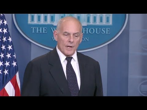 General John Kelly Destroys Lies About Trump's Call to Widow of Fallen Soldier