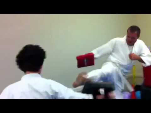 Pyramid Kicks at Zen Martial Arts