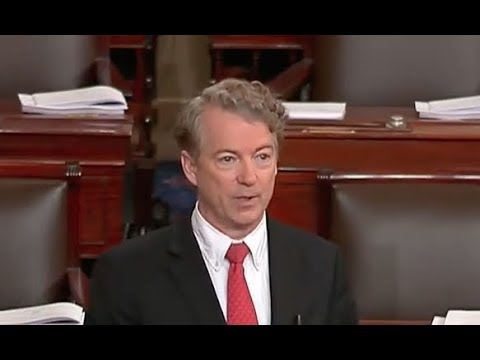 Rand Paul Talks About Irrational Spending