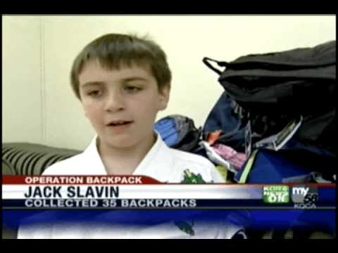 Sacramento Karate Student Kick-Starts Operation Backpack