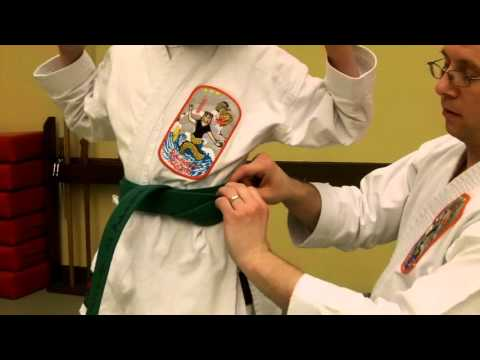 How to Tie Your Child's Karate Belt Obi