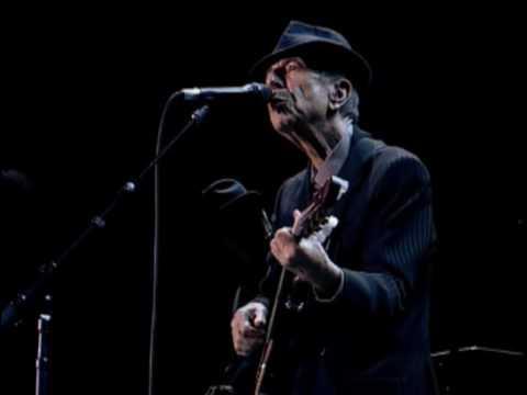 Leonard Cohen - Suzanne (promo Live in London 2008)