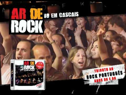 AR DE ROCK Ao Vivo em Cascais - TV spot