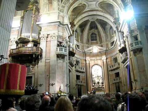 Basilica de Mafra - Ecoaram os 6 orgaos num espectaculo memoravel