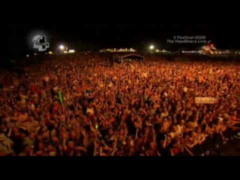 Keane - Somewhere Only We Know (Live V Festival 2009) (High Quality video) (HD)