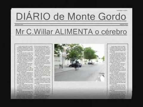 Mr C.Willar em Monte Gordo - Portugal
