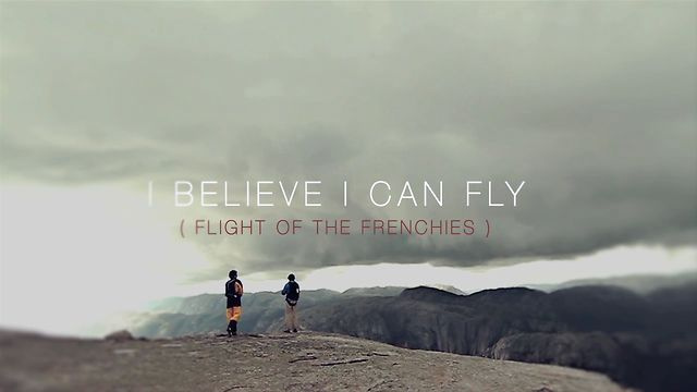 I Believe I can Fly ( flight of the frenchies). Trailer
