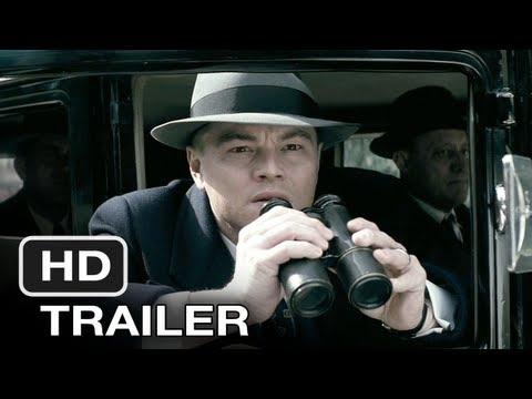 J. Edgar (2011) Official Trailer - HD Movie - Leonardo DiCaprio New Film