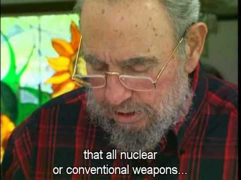 Mensaje de Fidel Castro contra la Guerra Nuclear (Español / English)