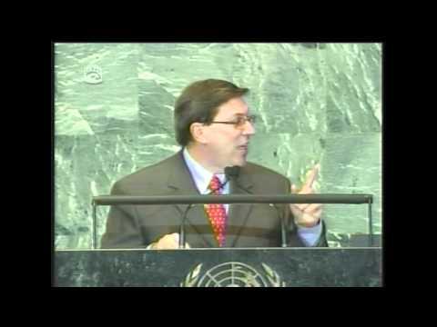 Discurso de Bruno Rodríguez en el debate de la Asamblea General de la ONU. Sept. 2011 (II)