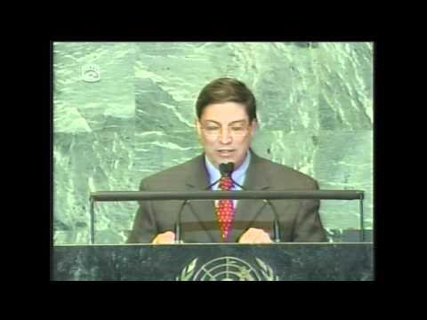 Discurso de Bruno Rodríguez en el debate de la Asamblea General de la ONU. Sept. 2011 (I)