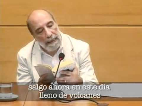 Raúl Zurita  Volver a leer a... Neruda, Canto General.avi