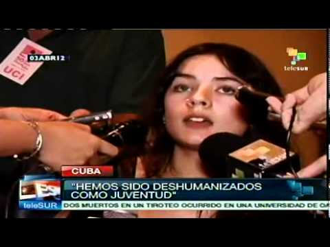 Líder estudiantil se refiere al neoliberalismo en Chile