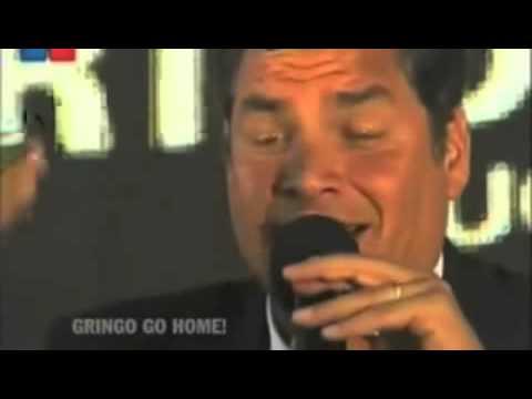 Pancho Calama - vídeo - Rafael Correa Presidente de Ecuador expone denuncias